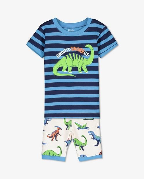 Pyjama bleu à imprimé de dinos Hatley - imprimé intégral - Hatley