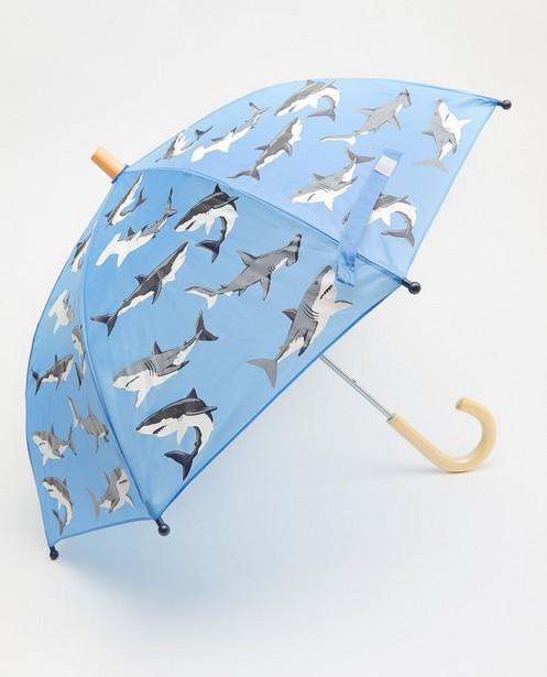 Parapluie bleu à imprimé Hatley - imprimé à requins - Hatley