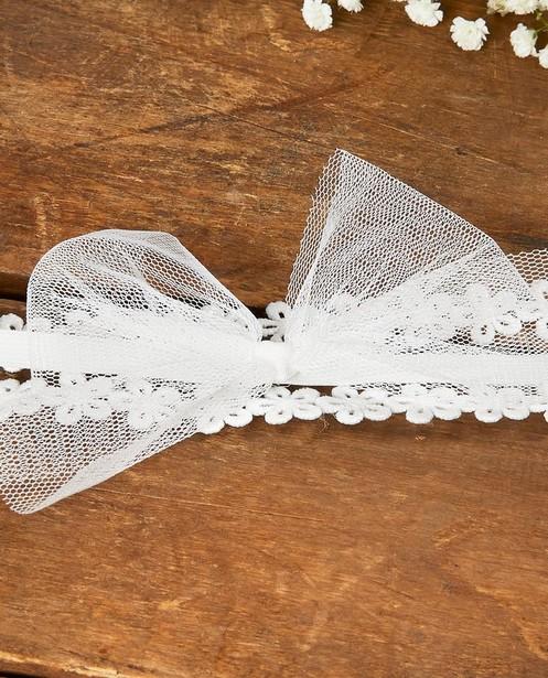 Bonneterie - Bandeau à petites fleurs Communion
