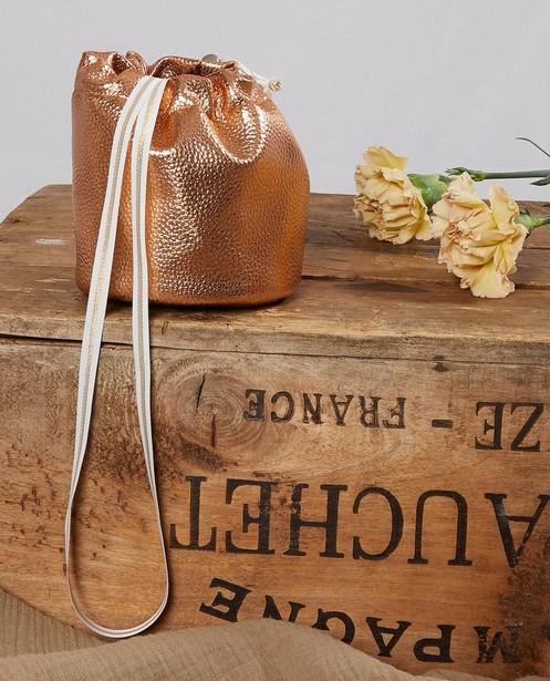 Handtassen - Buideltasje in rozé goud Communie
