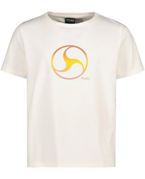 Wit T-shirt met print Nachtwacht - stretch - Nachtwacht