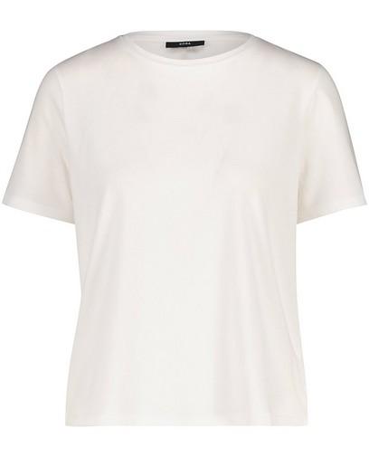T-shirt blanc en coton bio Sora