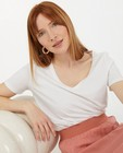 T-shirts - T-shirt blanc en coton bio Sora