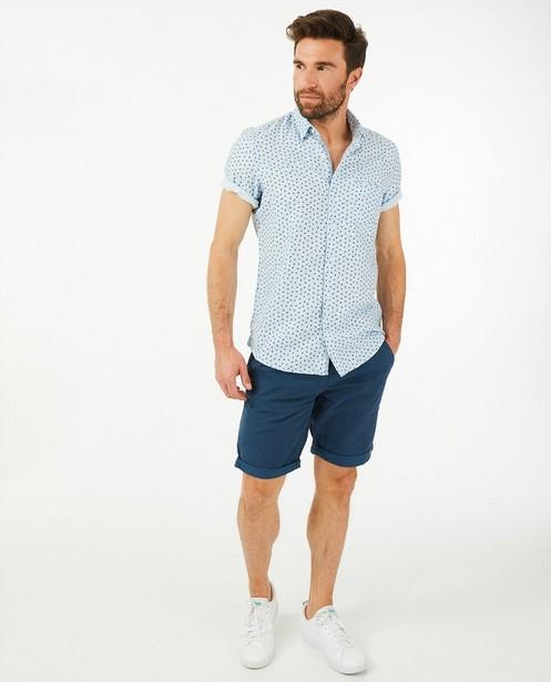 Chemise bleu clair à imprimé Lerros - à manches courtes - Lerros