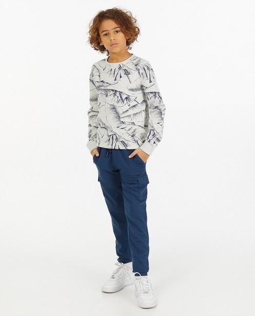 Grijze sweater met print Nachtwacht - allover - Nachtwacht