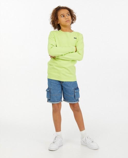 Gele sweater Nachtwacht - effen - Nachtwacht