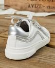 Schoenen - Witte sneakers met glitter, maat 30-38