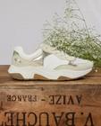 Beige sneakers, maat 33-38 - met glitter - Sprox