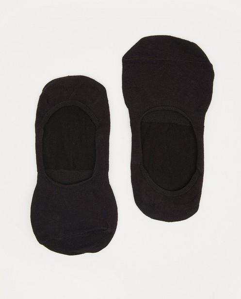 4 paires de protège-bas noirs Pieces - lot - Pieces