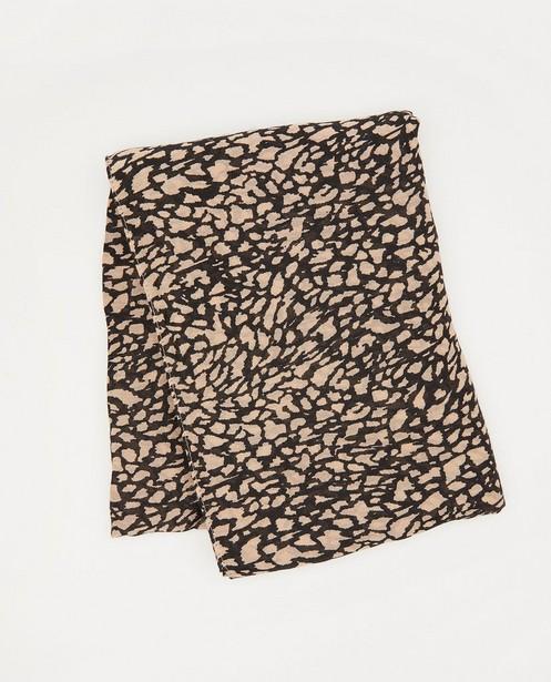 Sjaal met print Pieces - allover - Pieces