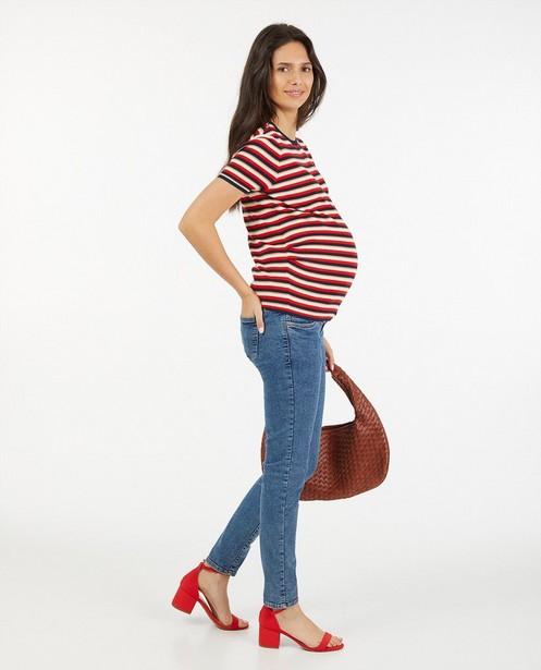 Gestreept T-shirt JoliRonde - zwangerschap - Joli Ronde