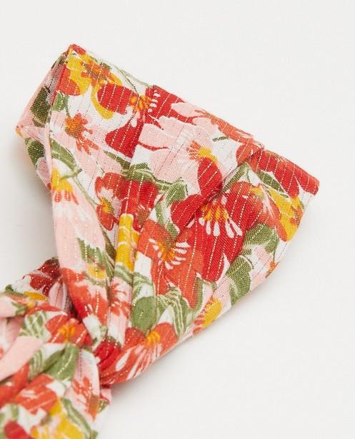 Breigoed - Haarband met bloemenprint