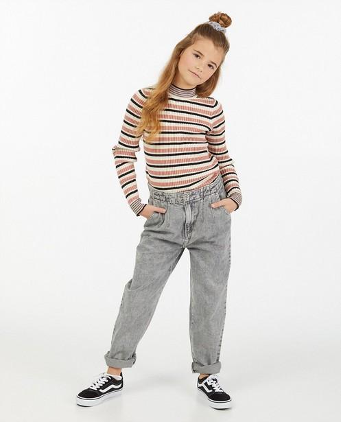 Grijze slouchy jeans Nachtwacht - verwassen effect - Nachtwacht