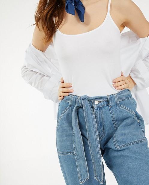 Jeans bleu Eva Youh! - coupe ample - Sora