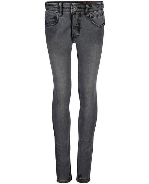 Jeans slim gris Solder Blue Rebel - effet délavé - Blue Rebel