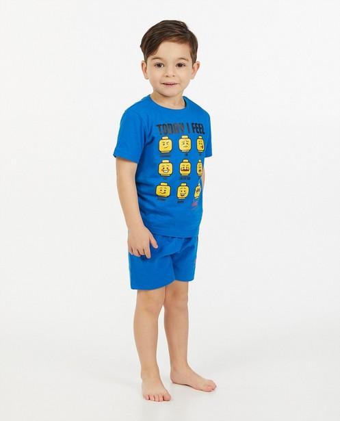 Tweedelige pyjama in blauw Lego - met print - Lego