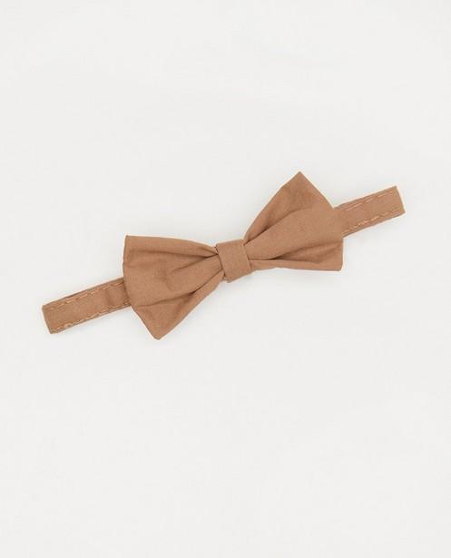 Nœud papillon brun Fête - avec un velcro - Cuddles and Smiles