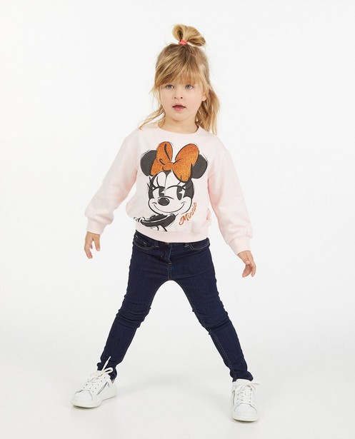Roze sweater met Minnie, 2-7 jaar - print - Mickey