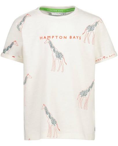 T-shirt écru à imprimé Hampton Bays