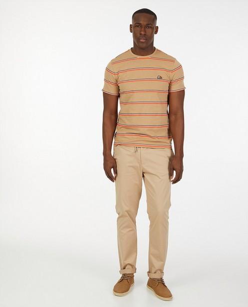 T-shirt à rayures Hampton Bays - beige - Hampton Bays