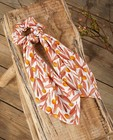 Scrunchie met strik Communie - met print - JBC