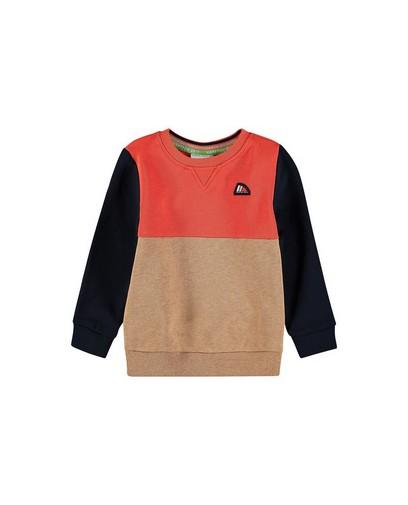 Sweater met color block Hampton Bays