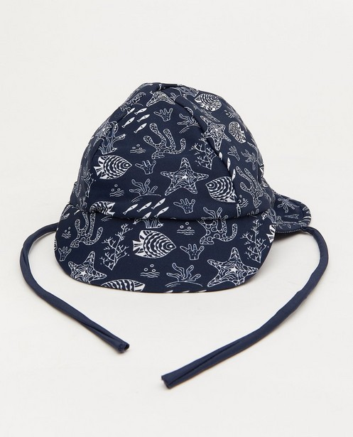 Chapeau bleu à imprimé - #familystoriesjbc - Familystories