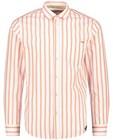 Hemden - Wit hemd met strepen Hampton Bays
