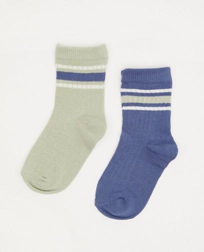 Lot de 2 paires de chaussettes pour bébés