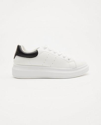 Witte sneakers, maat 36-41