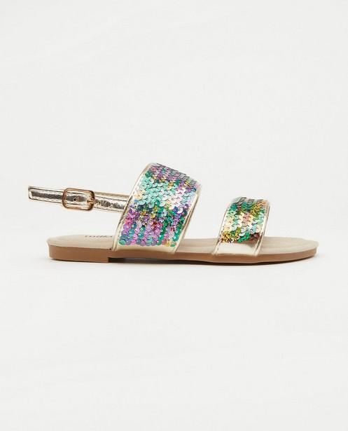 Sandales à paillettes, pointure28-32 - imprimé intégral - Milla Star