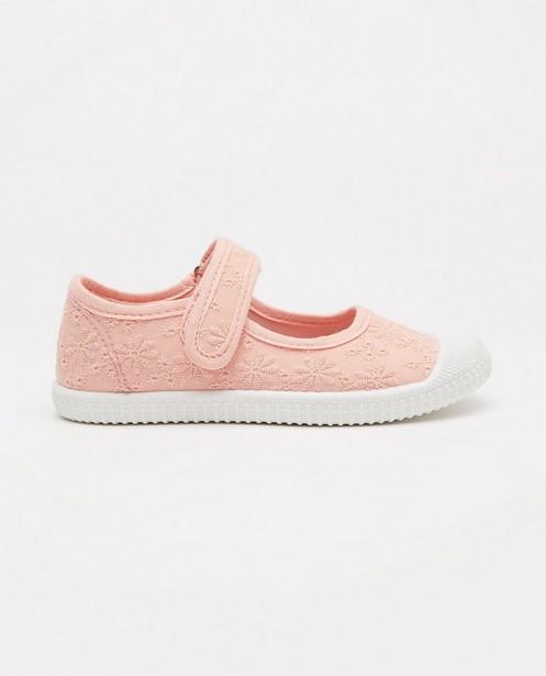 Chaussures roses, pointure 27-32 - à petites fleurs - Milla Star