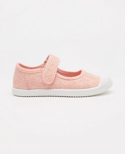 Roze schoentjes, maat 27-32