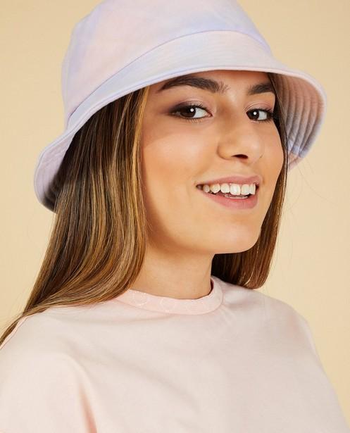 Chapeau de pêcheur pastel Nour & Fatma - lilas et corail - Nour en Fatma