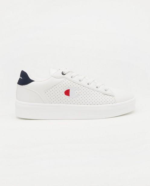 Witte Champion-sneakers, maat 36-41 - met gaatjes detail - Champion