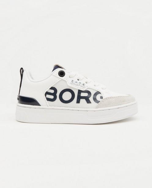 Witte sneakers Björn Borg, maat 28-32 - met ritssluiting - Björn Borg