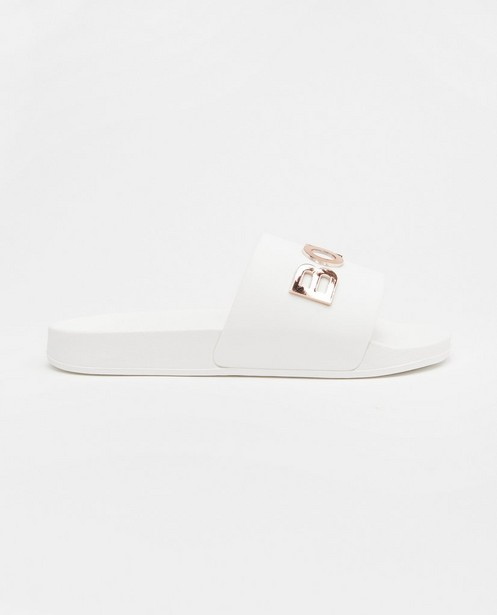 Tongs Björn Borg, pointure 36-41 - blanches et or rose - Björn Borg