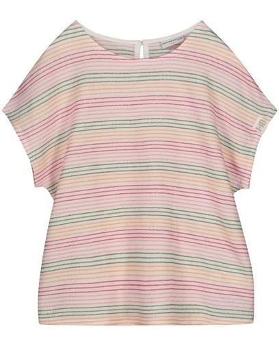 T-shirt met strepen Hampton Bays