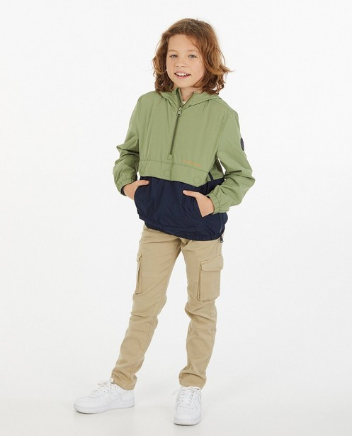 Anorak repliable, 7-14 ans - imperméable - Fish & Chips