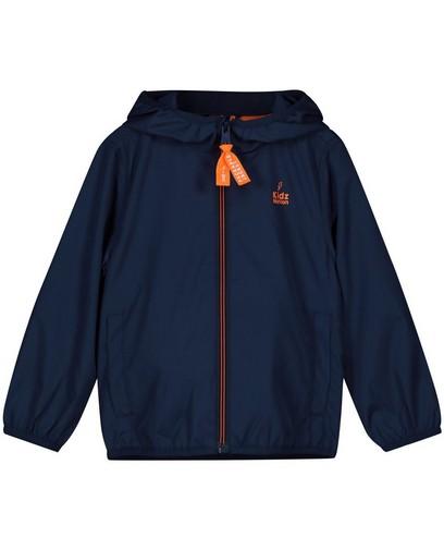 Blauwe packable jacket, 2-7 jaar