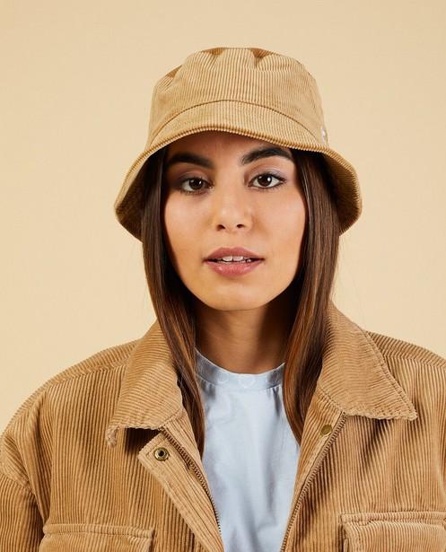 Chapeau de pêcheur brun Nour & Fatma - en velours côtelé - Nour en Fatma