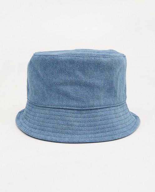 Chapeau de pêcheur bleu - en jeans - Milla Star