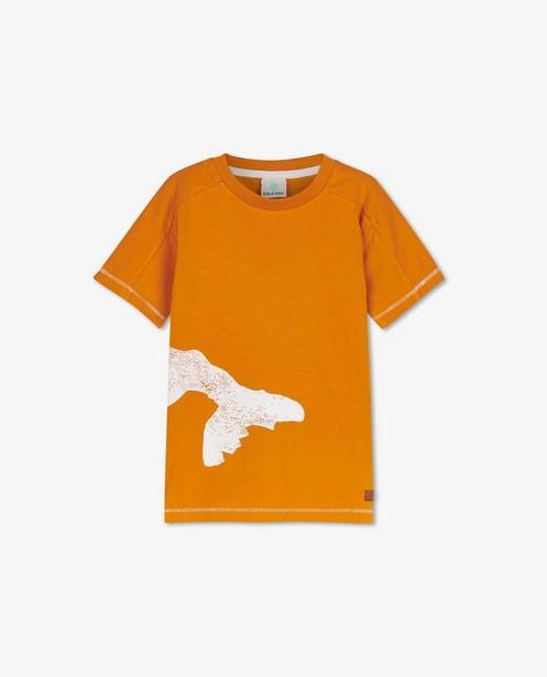 Oranje T-shirt met print EnFant - stretch - Enfant