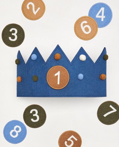 Verjaardagskroon AVA x JBC (1-8) - 8 patches - Kidz Nation