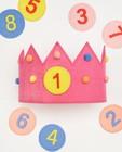 Verjaardagskroon AVA x JBC (1-8) - in roze - Milla Star