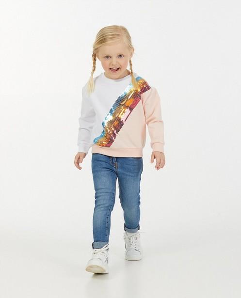 Sweater met pailletten K3 - van biokatoen - K3