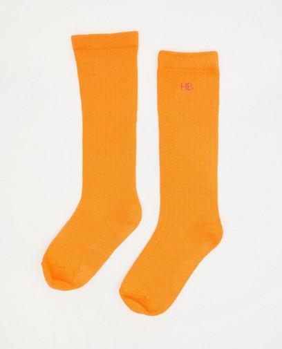Oranje kniekousen Hampton Bays