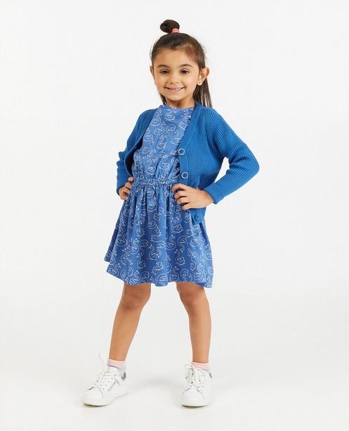 Cardigan bleu BESTies - fin tricot - Besties