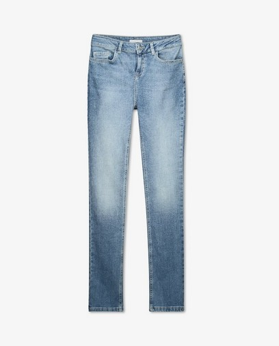 Blauwe slim fit jeans Sora