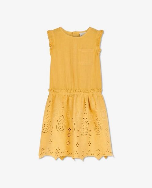Gele jurk met kant EnFant - en ruches - Enfant
